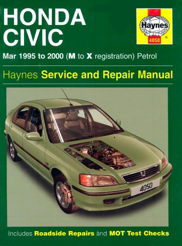 Honda Civic Service And Repair Manual: 1995 To 2000  by  Martynn Randall