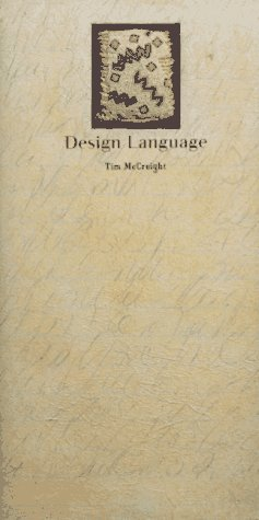 Design Language  by  Tim McCreight