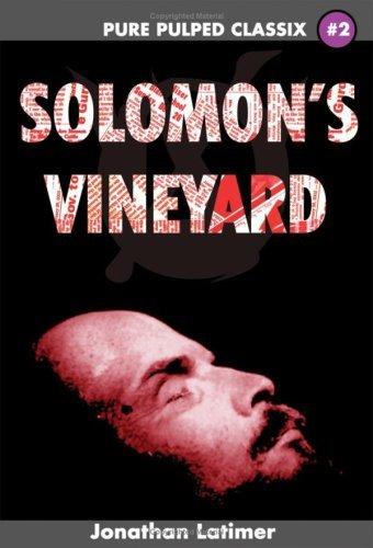 Solomons Vineyard Jonathan Latimer
