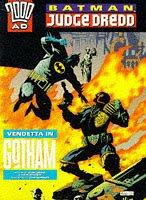 Batman, Judge Dredd John Wagner