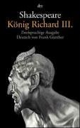 König Richard III. King Richard III. William Shakespeare
