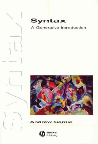 Syntax: A Generative Introduction  by  Andrew Carnie