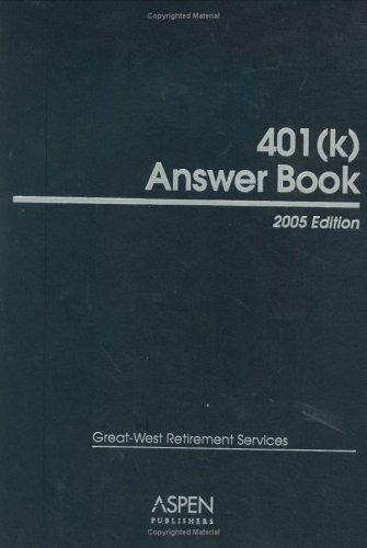 401K Answer Book Forms and Worksheets, 2005 Emjay Corporation