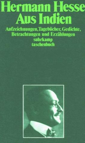 Aus Indien. Erinnerungen  by  Hermann Hesse