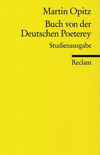 Weltliche Und Geistliche Dichtung: Aus: Deutsche National-Litteratur: Historisch-Kritische Ausgabe, 46 = Bd. 27, 1 Martin Opitz