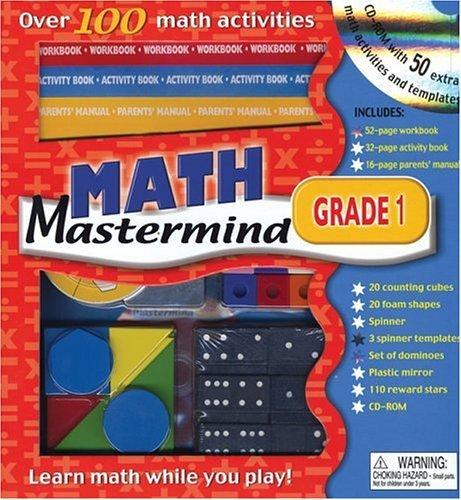 Math Mastermind Grade 1 Editors of Chart Studio Publishing