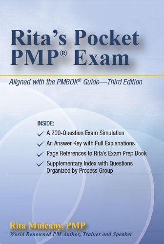 Ritas Pocket PMP Exam  by  Rita Mulcahy