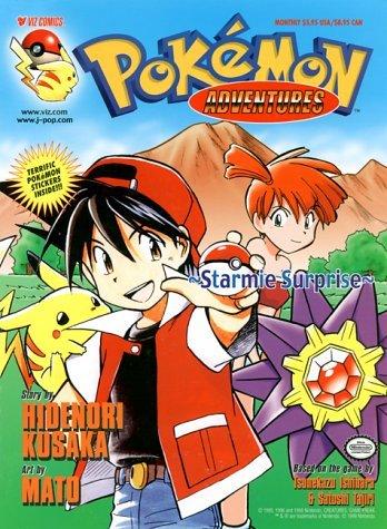 Pokemon Adventures:  Starmie Surprise Hidenori Kusaka