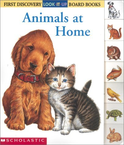 Animals at Home Gallimard Jeunesse