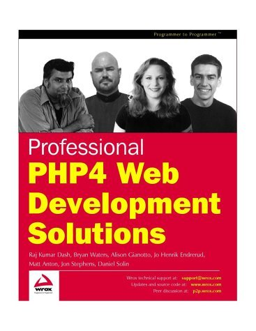 Professional PHP4 Web Development Solutions  by  Luis Argerich