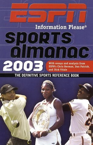 2003 ESPN Sports Almanac: The Definitive Sports Reference Book Gerry Brown