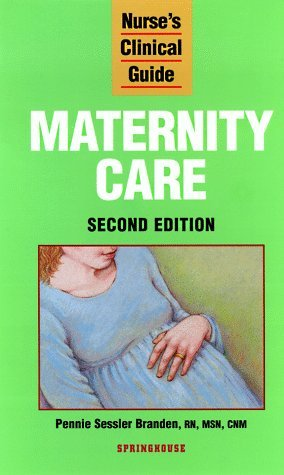 Maternity Care Barbara Decker