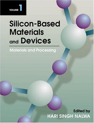 Silicon Based Materials And Devices Hari Singh Nalwa