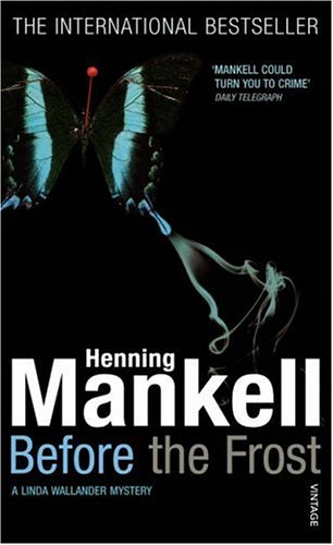 Before The Frost Henning Mankell