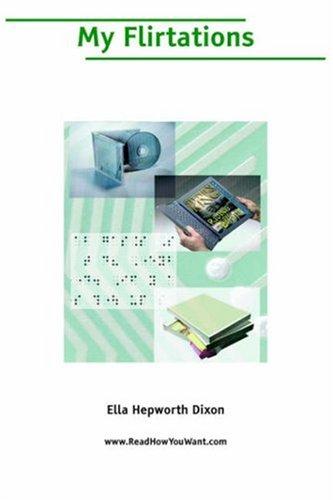 My Flirtations Ella Hepworth Dixon