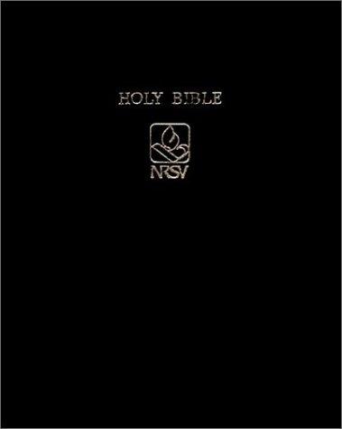 Holy Bible: NRSV Wide Margin Edition Black bonded leather NRWM12  by  Cambridge University Press