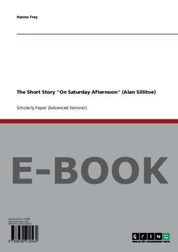 The Short Story on Saturday Afternoon  by  Hanno Frey