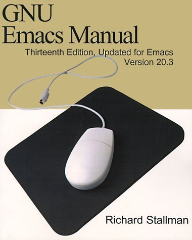 GNU Emacs Manual Richard M. Stallman