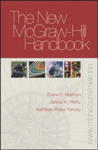 New McGraw-Hill Handbook (hardcover) with Student Access to Catalyst 2.0 Elaine Maimon