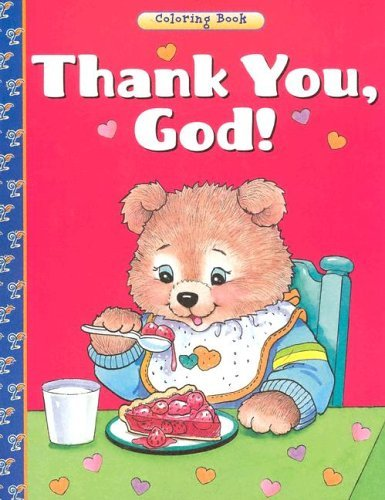 Thank You, God Coloring Book Jean Fischer