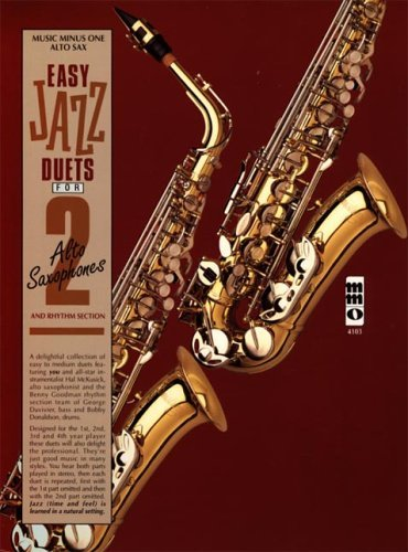Easy Jazz Duets for 2 Alto Saxophones and Rhythm Section [With CD] Norman Farnsworth