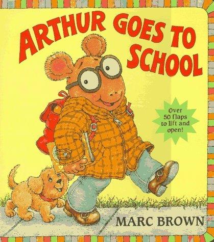 Arthur Goes to School (Great Big Board Book) Marc Brown