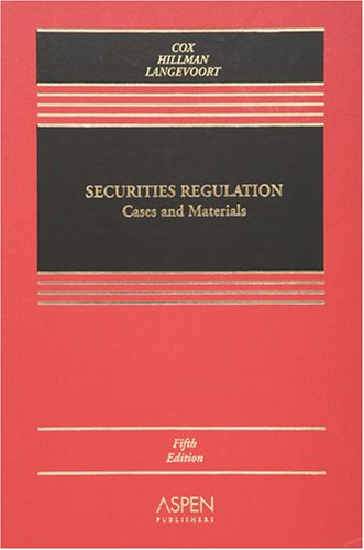 Sum & Substance Audio Set On Securities Regulation  by  James D. Cox