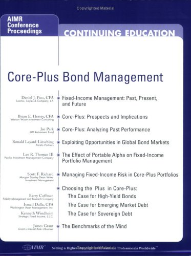 Core Plus Bond Management Daniel J. Fuss