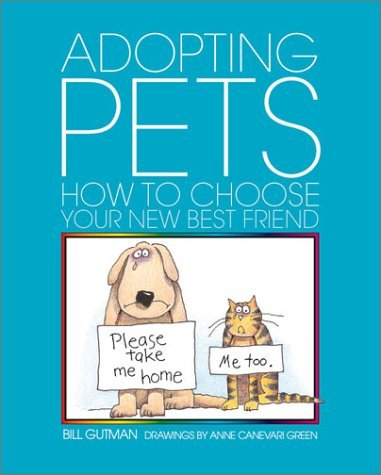 Adopting Pets: How to CHS Your Bill Gutman