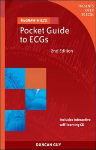 Pocket Guide to Ecgs  by  Duncan Guy