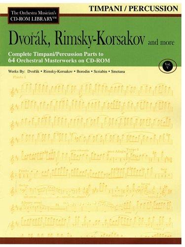 Dvorak, Rimsky-Korsakov and More: The Orchestra Musicians CD-ROM Library Vol. V Antonín Dvořák