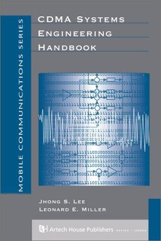 Cdma System Engineering Handbook  by  Jhong Sam Lee