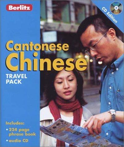 Cantonese Chinese Travel Pack Berlitz Publishing Company