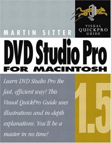 Dvd Studio Pro 1.5 For Macintosh Martin Sitter