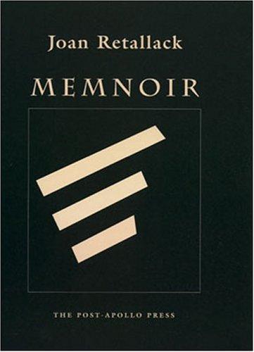 Memnoir Joan Retallack