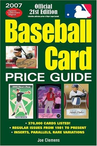 2010 Baseball Card Price Guide  by  Joe Clemens