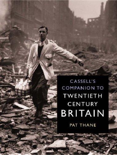 Cassells Companion to Twentieth Century Britain  by  Pat Thane