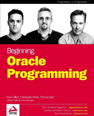 Beginning Oracle Programming Sean Dillon