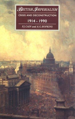 British Imperialism: 1688-2000 P.J. Cain
