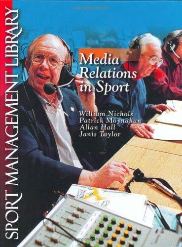 Media Relations In Sport Allan Hall