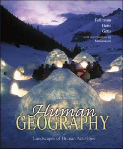 Human Geography with Online Learning Center (Olc) Password Card Jerome D. Fellmann