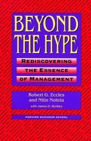 Beyond Hype  by  Robert G. Eccles