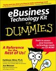 Ebusiness Technology Kit for Dummies [With CDROM]  by  Kathleen Allen