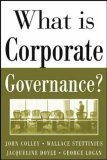 What Is Corporate Governance?  by  John L. Colley