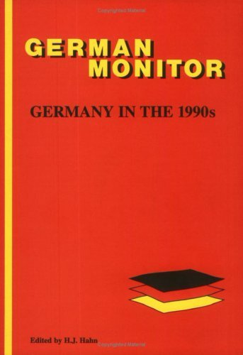 Germany In The 1990s.(German Monitor 34)  by  Hans-Joachim Hahn