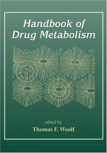 Handbook of Drug Metabolism Thomas Woolf
