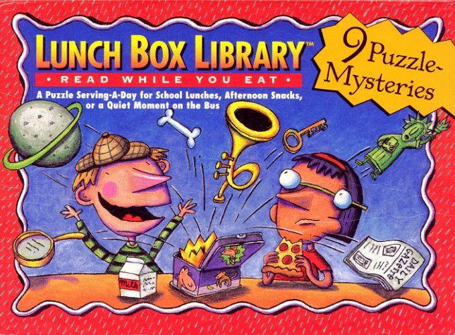 Lunch Box Library: 9 Puzzle Mysteries Andrew Gutelle