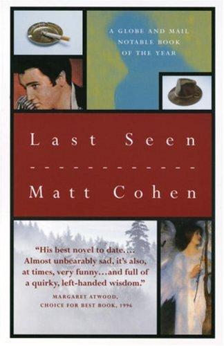 Elizabeth and After Matt Cohen