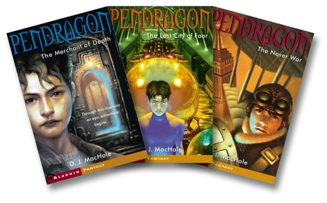 The Pendragon Series (The Merchant of Death, The Lost City of Faar, The Never War and The Pendragon Journal) (Pendragon, #1-3) D.J. MacHale