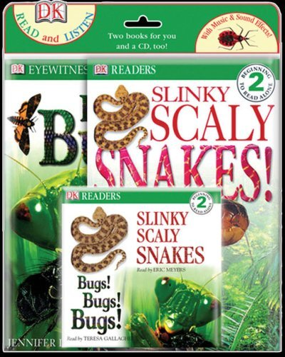 Bugs! Bugs! Bugs! and Slinky, Scaly Snakes! Jennifer Dussling